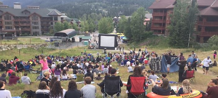 WFF Summer Cinema Series in Creekside Village
