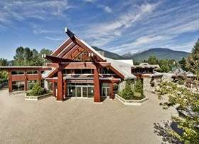 The Whistler Conference Centre is an outstanding (and green) meeting facility.