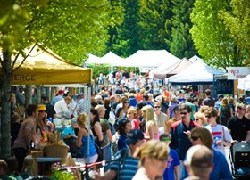 Whistler's Farmers Market offers local produce from Whistler & Pemberton.