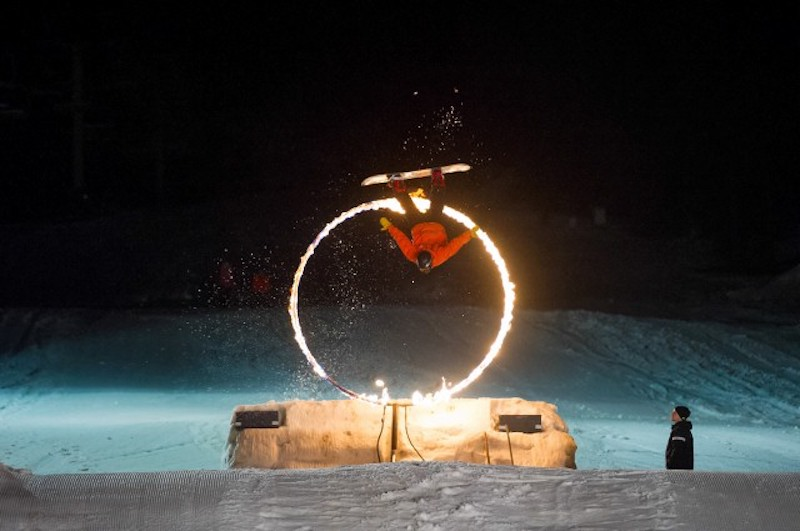 Fire & Ice Show Whistler