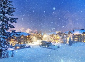 Whistler Creekside in Winter