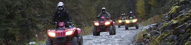 ATV and 4 x 4 Tours