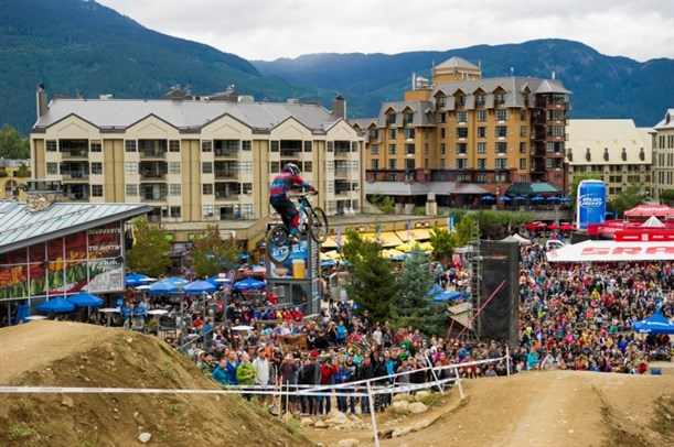 Whistler Crankworx 2013 Can Open Downhill
