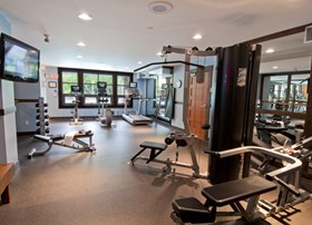 Legends Whistler fitness facility. Work it out!