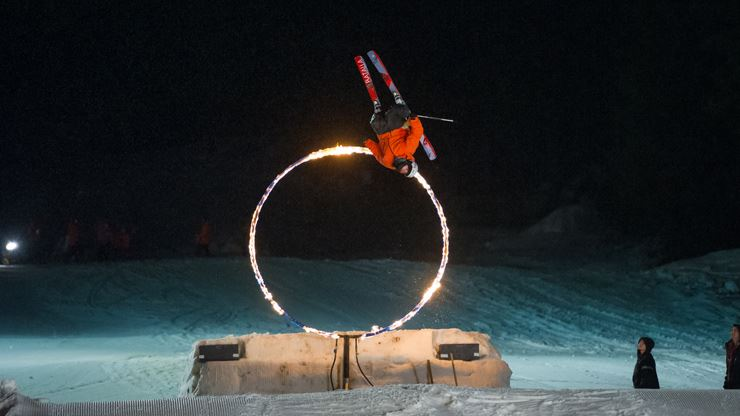 Whistler's Fire and Ice Show