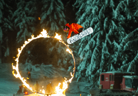 Whistler Blackcomb Fire and Ice Show